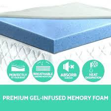 memory foam mattress topper walmart. Cool Gel Mattress Topper Walmart Serta Memory Foam Kohls Costco Novaform Review