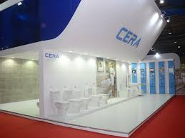 Product Display Stands For Exhibitions Cera Sanitaryware First Rain Exhibition Stands For Global Brands 82
