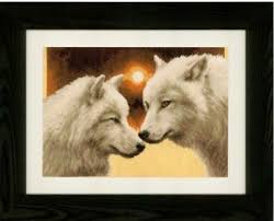 Vervaco Cross Stitch Charts Vervaco Embroidery Pack Picture Cross Stitch Patterns Wolf