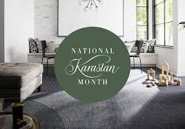 national karastan month 2019