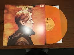 Vinyl Record Condition Chart David Bowie Low Lp Orange Color Vinyl With Insert Japan