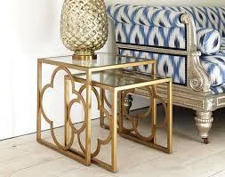 quatrefoil coffee table fancy side table with best gold side tables ideas on gold accents gold quatrefoil coffee table
