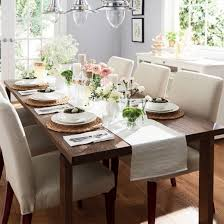 morbylanga dining table with a beautiful spring decor and henriksdal chairs