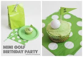 Kitchen Floor Crafts Mini Golf Birthday Party