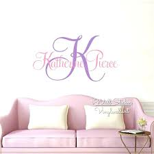 large monogram wall decal wall ideas monogrammed wall decor personalized  wrought iron wall large wood monogram