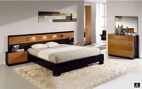 Modern Style Bedroom Sets Made In Spain Wood Modern Design Bed Set With Extra Storage Durham