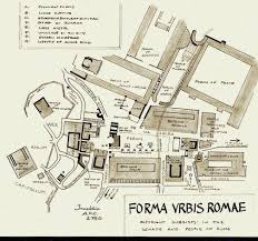Drawings Site Roman Forum Drawing Of The Ancient Site