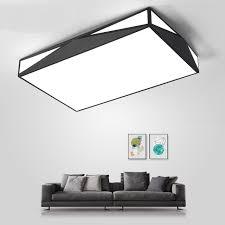 rectangular ceiling light. Rectangular Ceiling Lights Living Room Lamp Modern Minimalist Geometry Atmosphere Creative Bedroom Lobby Interio LU821384 Light
