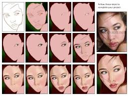 Digital Portrait Painting Step By Step For Digital Portrait Painting