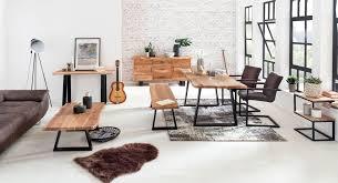 Esszimmertisch Baumkante Massiv Esstisch Tisch 200 X 100 X 76cm