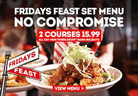 fridays feast full width banner
