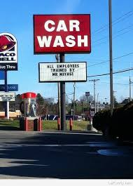 Car Wash Quotes Funny car wash sign 46
