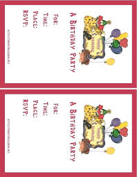 Design Your Own Birthday Party Invitations Design Own Party Invitations Free Hello Kitty Birthday Invitations