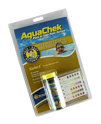 Aquachek 7 Color Chart Aquachek Select 7 In 1 Pool And Spa Test Strips Complete Kit Clear