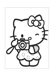 Hello Kitty Foto Maken Hello Kitty Kleurplaten Kleurplaatcom