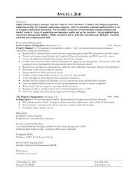 Property Manager Resume Property Leasing Manager Resume Real Estate