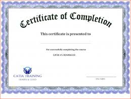 Certificates Of Completion Templates Free Check Microsoft Word