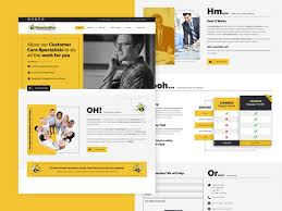 Independent Contractor Web Design Consumer Bee By Ramish Zaidi On Dribbble