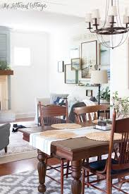 Cottage Farmhouse Decorating The Lettered Cottage Living Room Dining Room1 600x900
