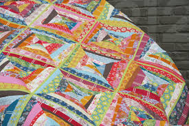 FITF: a colorful (and slightly wonky) string quilt top | Film in ... & voile-string-quilt2 Adamdwight.com
