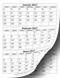 3 Month Calendar Print Magdalene Project Org