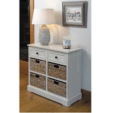 small hall table with drawers. Cream Wooden Drawers And 4 Basket Hallway Storage Unit Small Hall Table With N