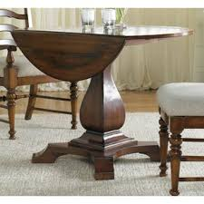 Image Black Round Drop Leaf Table Wayfair Drop Leaf Dining Tables Youll Love Wayfair