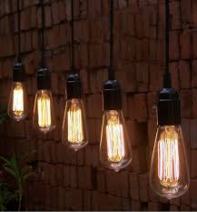the best bare bulb pendant lights