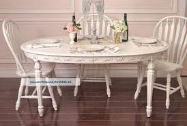 shabby chic pedestal dining table white tufted comfy fabric dining chairs wine glass set rectangular glass