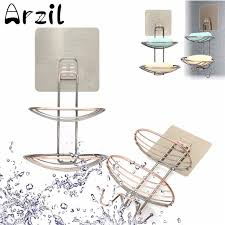 wall soap debris holder dish basket tray organizer home bathroom s diy shower cup strong suction