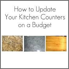 kitchen countertop ideas on a budget kitchen ideas on a budget kitchen counter updates kitchen ideas