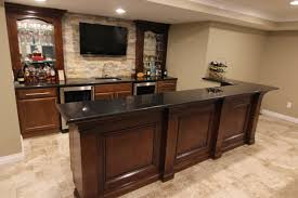 Basement Kitchen Bar Merillat Classic Basement Bar Designed By Mans Kitchen Bath