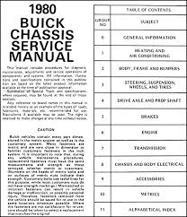 1980 buick repair shop manual riviera skyhawk century regal this manual covers all 1980 buick models except skylark including skyhawk century regal lesabre electra riviera and station wagons