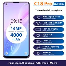 <b>OUKITEL C18 Pro</b> 6.55 Inch Android 9.0 <b>4G</b> RAM 64G ROM ...