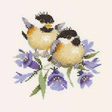 Valerie Pfeiffer Bluebell Chick Chat Counted Cross Stitch