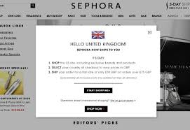 makeup palette sephora s sephora now ships to the uk