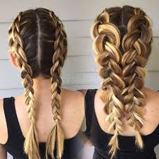 Braid Hairstyles For Long Hair 46 Awesome BRAIDS A Visual To Show The Difference Of Double Dutch Braids