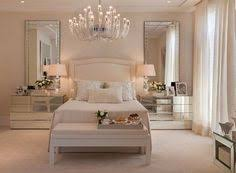 bedroom with mirrored furniture. Love The Elegance - Bedroom With Mirrored Side Draws Plus Mirrors On Both Sides. Furniture