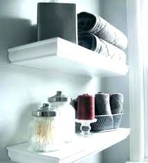 bathroom floating shelves above toilet beautiful over bat