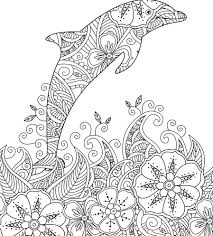 Print and color the best free dolphins color pictures. Dolphins Coloring Pages 100 Pictures Free Printable