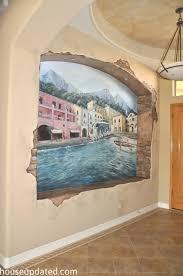tuscany wall mural
