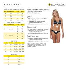 Body Glove Swimsuit Size Chart Body Glove Smoothies Mika Top Zappos Com