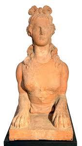 Antique Sphinx 1833 Felix Austin England Gargen Sculpture For Sale at  1stDibs