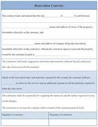 bathroom remodel contract. Sample Bathroom Remodel Contracts Home Renovation Contract