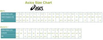 Asics Shoe Size Chart Uk My Shoe Spot Myshoespotcom On Pinterest