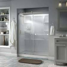 frosted shower door frosted glass shower doors canada