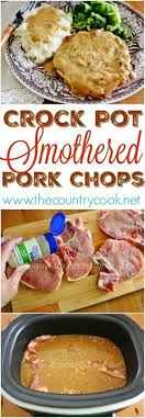 Country Style Baked Pork Chops  Recipe  Chops Recipe Pork Chop Country Style Smothered Pork Chops