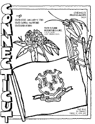 Connecticut Coloring Page Crayolacom