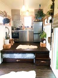 modern tiny house with pull out bed best no loft without top houses on wheels downstairs