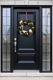pictures of black front doors with dark blue front door